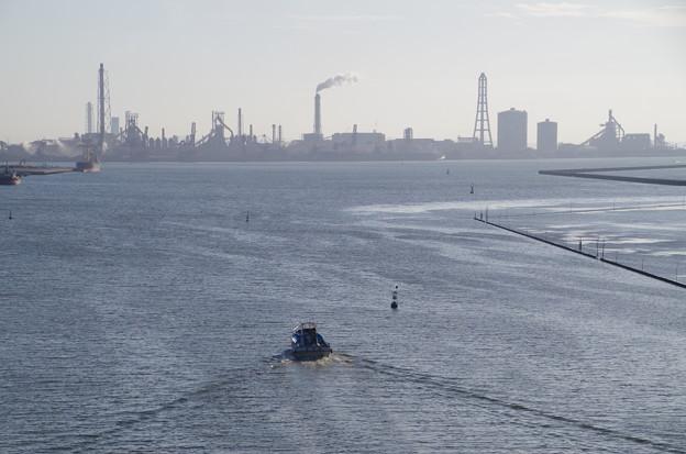 写真: 中の島大橋-新日鐵方面