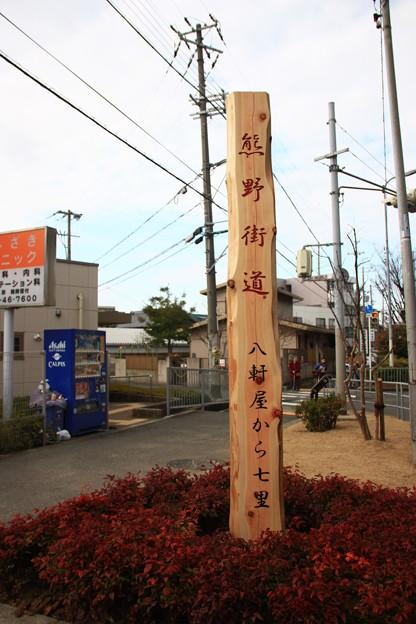 和泉市北信太の街道