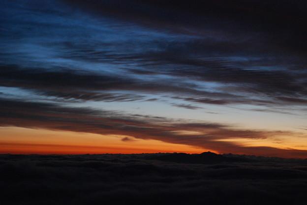 写真: 朝の色彩