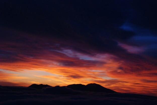 写真: 朝の色彩ー2