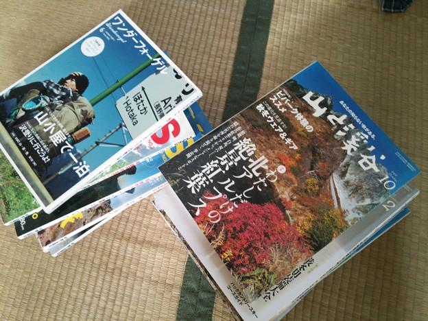 Photos: 雑誌は、捨てようかな?
