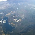 Photos: 空から見た箱根と芦ノ湖