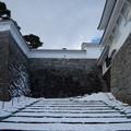 雪景色の霞ヶ城-06086