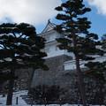 雪景色の霞ヶ城-06080