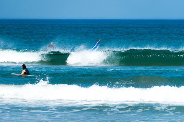 写真: 海の日サーフィン-01886
