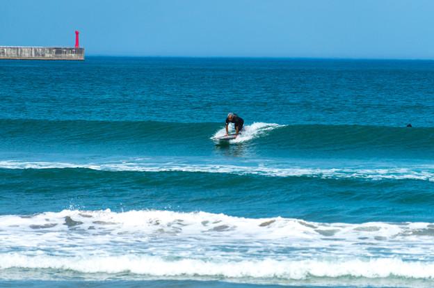 写真: 海の日サーフィン-01902