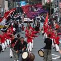 Photos: よさこいと坂戸太鼓のコラボ