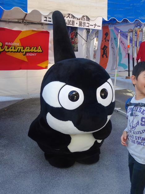 名古屋まつり 2014 No - 058:グランパスブースに、グランパスくんいた!