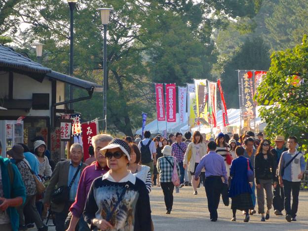 Photos: 秋の名古屋城 - 04:「名古屋まつり」に伴う無料公開で賑わう名古屋城