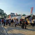 写真: 秋の名古屋城 - 06:「名古屋まつり」に伴う無料公開で賑わう名古屋城