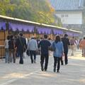 写真: 秋の名古屋城 - 10:「名古屋まつり」に伴う無料公開で賑わう名古屋城