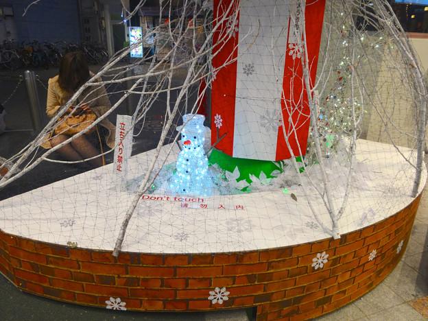 招き猫広場のクリスマス・イルミネーション 2014 No - 07