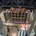 写真: ナディアパーク最上階から下を覗く