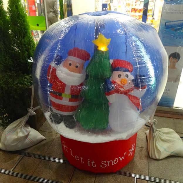 ルネサンスシティ勝川のクリスマスデコレーション 2014 No - 04