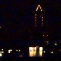 写真: 小牧から見える東山スカイタワー:毎月8日(今日は1/8)は『環境保全の日』で、イルミネーションは上半分! - 5