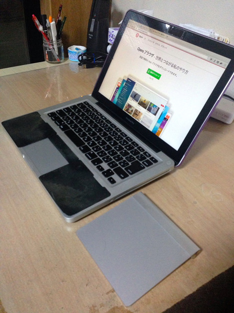 MacBook Pro(13int、非Retina)とMagic Trackpad - 3