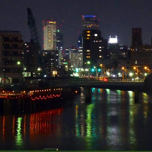 旗屋橋から見た名駅ビル群 - 3
