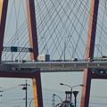 写真: ポートメッセなごやから見た「名港西大橋」 - 3
