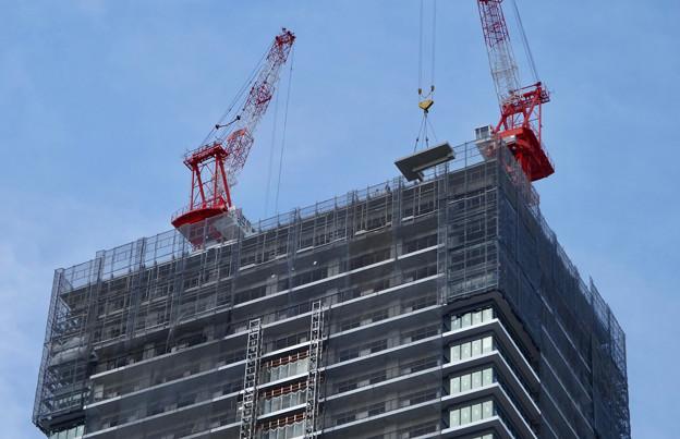 建設進む御園座の高層マンション(2017年4月18日) - 3
