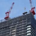 写真: 建設進む御園座の高層マンション(2017年4月18日) - 3