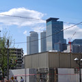 写真: 劇団四季の旧・新名古屋ミュージカル劇場跡地付近から見た名駅ビル群 - 1