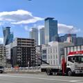 写真: 劇団四季の旧・新名古屋ミュージカル劇場跡地付近から見た名駅ビル群 - 3
