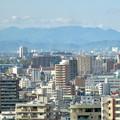 写真: 全面開業翌日(4月18日)のJRゲートタワー - 26:ゲートタワーから見えた遠くの山々