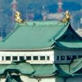 写真: 全面開業翌日(4月18日)のJRゲートタワー - 33:ゲートタワーから見た名古屋城天守閣(金シャチ)