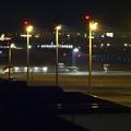 Photos: エアポートウォーク名古屋から見た、夜の県営名古屋空港