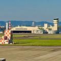 県営名古屋空港から見たスカイステージ33