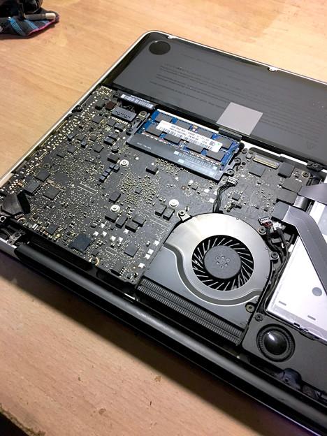 MacBook Pro 2012の内部 - 11