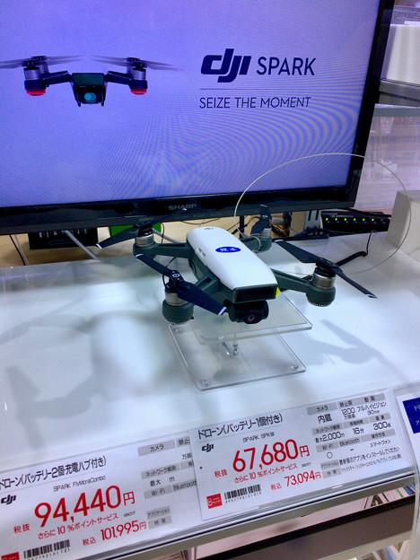 ビックカメラ名古屋JRゲートタワー店:DJI「Spark」のモック - 1