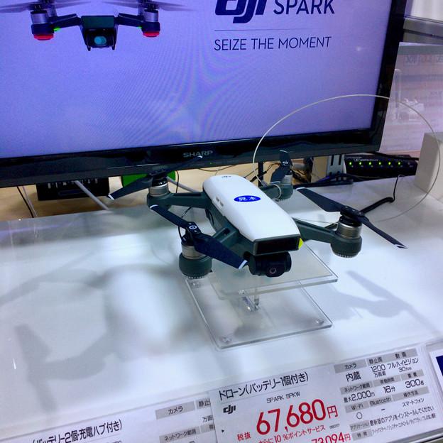 ビックカメラ名古屋JRゲートタワー店:DJI「Spark」のモック - 2