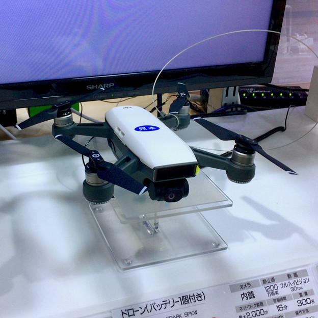 ビックカメラ名古屋JRゲートタワー店:DJI「Spark」のモック - 3