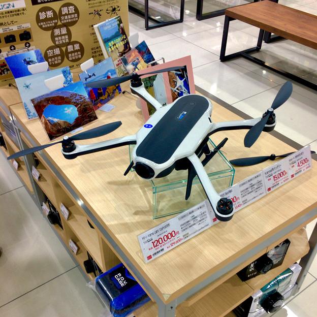 ビックカメラ名古屋JRゲートタワー店:GoPro「Karma」のモック - 2