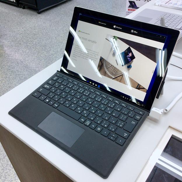 ヨドバシカメラ マルチメディア名古屋松坂屋店で先行展示されてた新しい「Surface Pro」 - 6