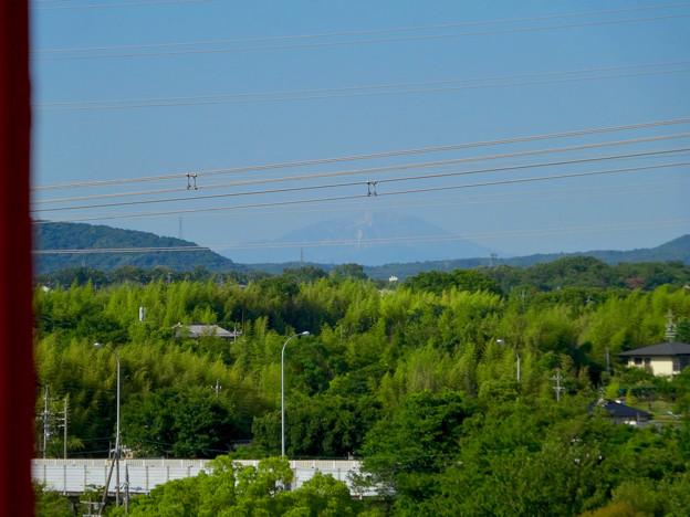 落合公園 水の塔から見た景色:雪がほとんど消えてた、初夏の御嶽山 - 7