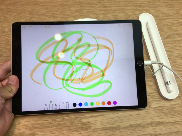 iPad Pro 10.5とApple Pencil