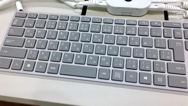 ビックカメラ名古屋JRゲートタワー店:Surface Studioが展示中! - 5(打ち心地や触り心地が良いキーボード)