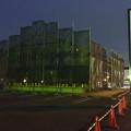 写真: 春日井市民病院前の旧がってん寿司跡地、建物の建設始まる(2017年6月24日) - 2