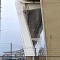 金城ふ頭から見上げた名港中央大橋 - 7
