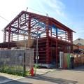 写真: 犬山城下町:火事があった場所に新たに建てられてる建物 - 1