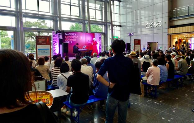 Nagoya Groovin' Summer 2017 No - 16:yukiさんと近藤有輝さん(ナディアパーク)