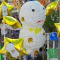 写真: 安城七夕まつり 2017 No - 21:安城駅前の通りの七夕飾り(きーぼー)
