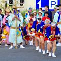 写真: 安城七夕まつり 2017 No - 136:アンフォーレ前で阿波踊り