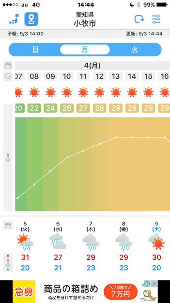 気温変化がカラフルで分かりやすい天気アプリ「WeatherJapan」 - 2