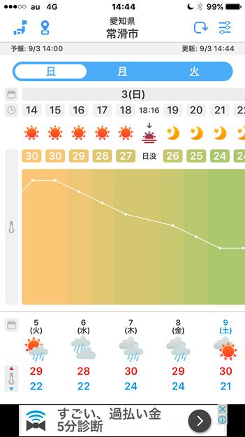 気温変化がカラフルで分かりやすい天気アプリ「WeatherJapan」 - 6