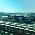 オープン1ヶ月前の「IKEA(イケア)長久手」 No - 2:リニモ車内から撮影