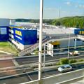 オープン1ヶ月前の「IKEA(イケア)長久手」 No - 39:公園西駅ホームから撮影