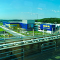 オープン1ヶ月前の「IKEA(イケア)長久手」 No - 41:リニモ車内から撮影